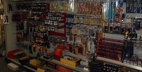 Tools and Hardware dept